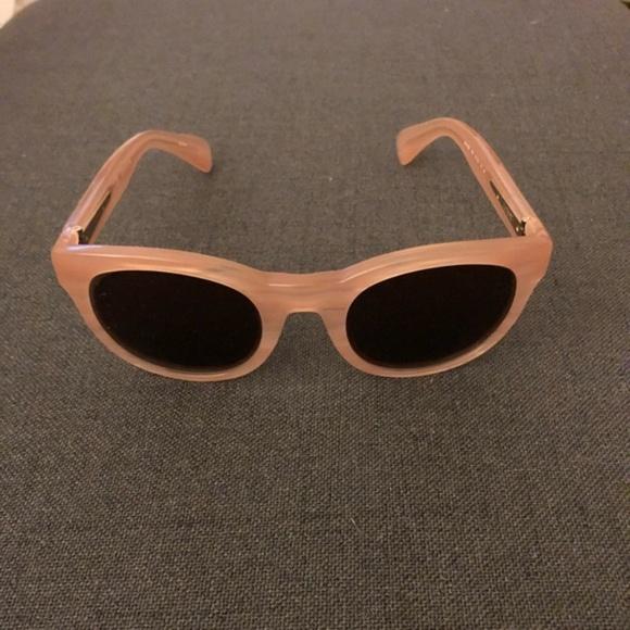 69bac83e22 J. Crew Accessories - J. Crew Sam Sunglasses in pale pink horn